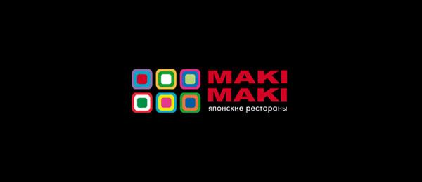 Меню ресторана японской кухни «Maki Maki»